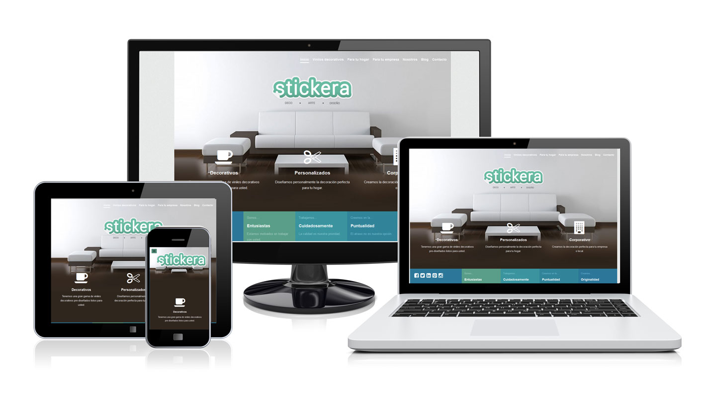 Diseño de logotip y web