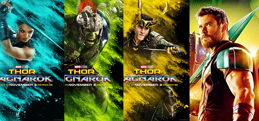 Posters de Thor: Ragnarok