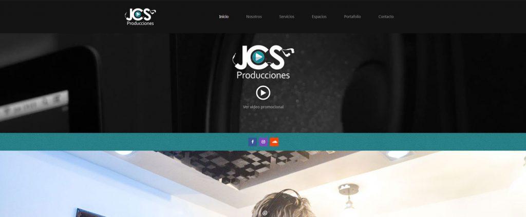 Diseño Web Landing Page para JCSPTY