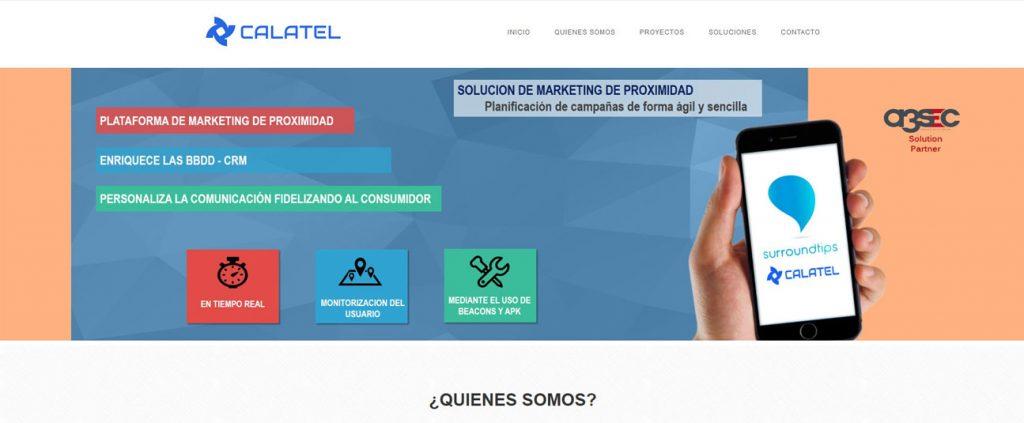 Diseño Web PYME para CALATEL